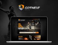 国外酷炫风格的Got Next体育网站设计欣赏