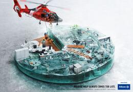 国外Allianz安联保险系列创意平面广告设计欣赏