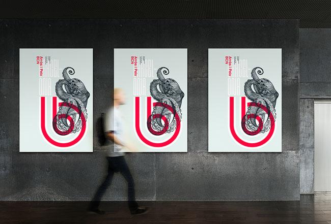 国外设计师Xavier Esclusa的四款时尚海报设计C