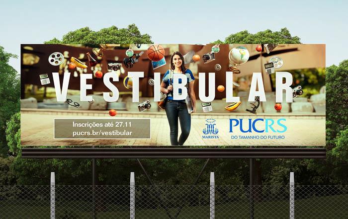 巴西PUCRS MBA培训课程宣传平面广告设计欣赏