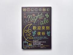 《欢迎来到夜谷》书籍封面设计作品欣赏