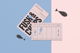 国外Fush & Chups快餐品牌视觉形象VI设计欣赏