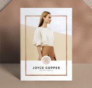 国外青铜色系的JOYCE Copper杂志设计作品欣赏