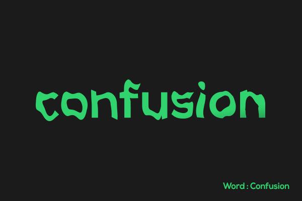 Bachir Bachchar英语单词绿色创意字体设计(四)