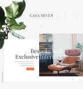 国外Casa Seven室内设计工作室网站设计欣赏