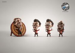 巴西SUVO除汗爽系列创意广告设计欣赏