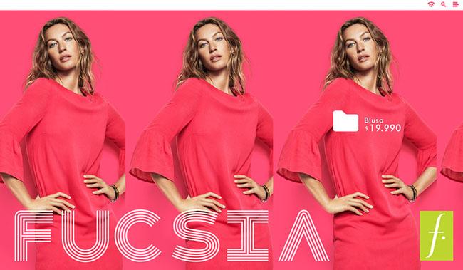 国外FUCSIA粉色女式衬衫时尚设计作品欣赏