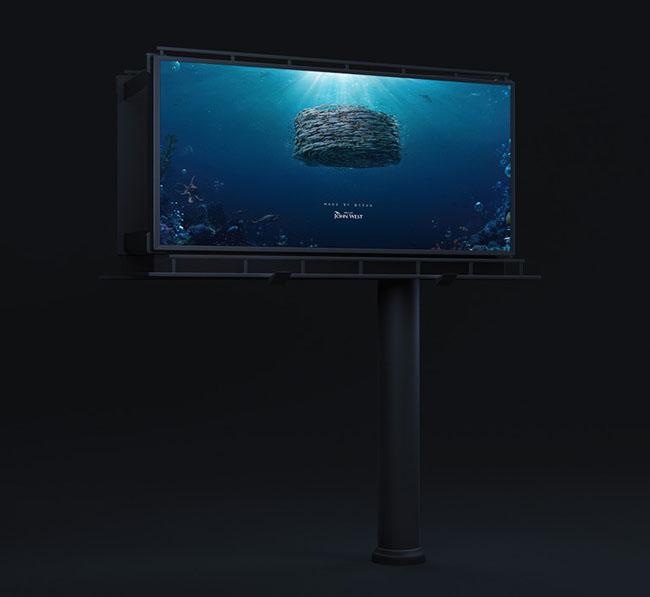 国外John West海鲜鱼罐头系列促销创意广告设计欣赏
