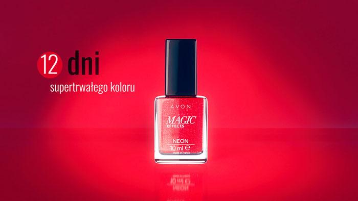 国外精致简美的雅芳(Avon)指甲油广告设计作品欣赏