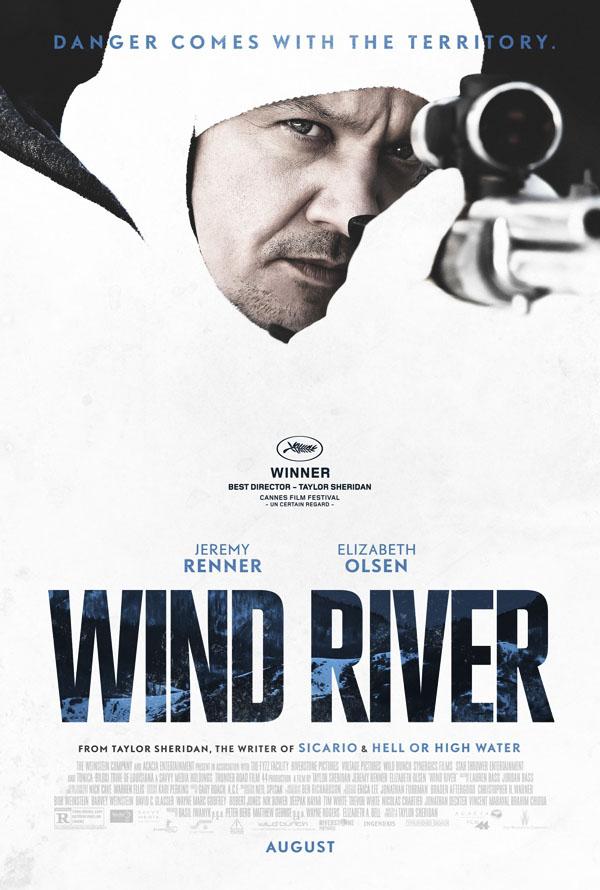 惊悚电影《猎凶风河谷》电影宣传海报设计欣赏