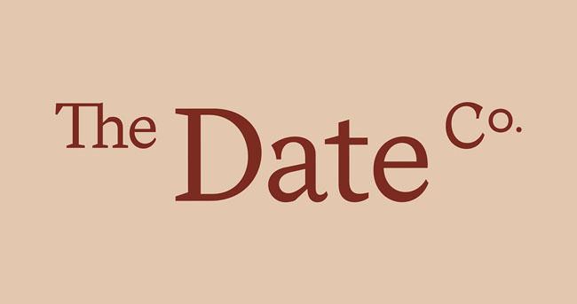 国外The Date Co糖浆精美包装设计作品欣赏