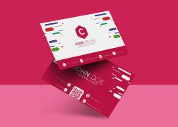 国外设计师Monira Mahs商务名片设计欣赏