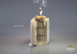 国外立陶宛Zolotaya Bochka啤酒创意平面广告设计欣赏