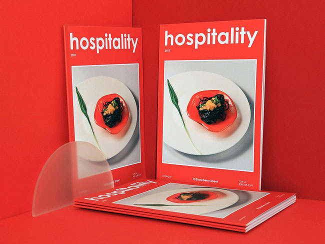 国外10 Strawberry Street美食目录画册设计欣赏
