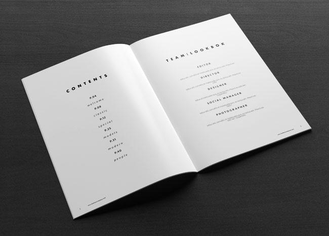 国外一款适合时尚品牌的画册设计作品欣赏