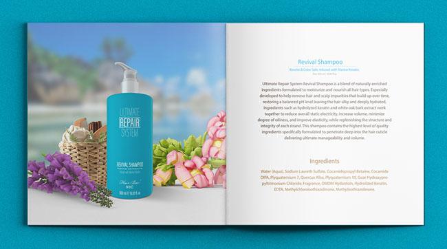 国外Hair Care NYC头发护理产品画册设计作品欣赏