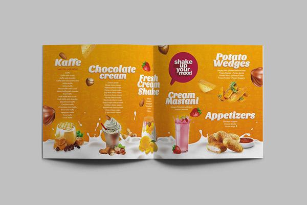 国外Chocolicious咖啡馆甜品目录画册设计