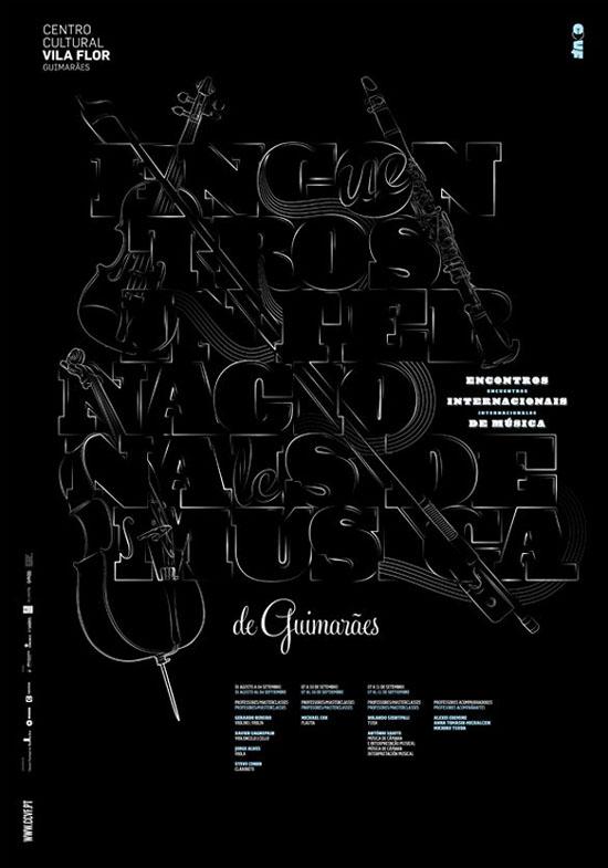 国外精选的10幅优秀的海报字体排版设计
