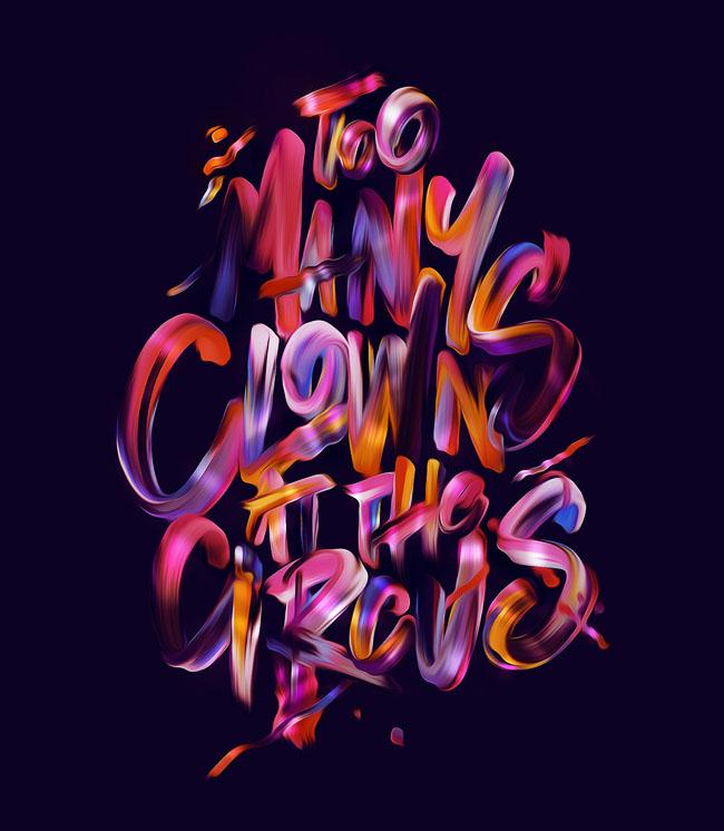 美国设计师Luke Choice字体设计作品欣赏(三)