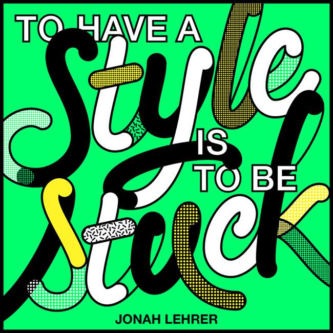 美国设计师Tien Min Liao时尚字体设计作品分享