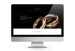 国外Golden Empire珠宝品牌网页设计作品