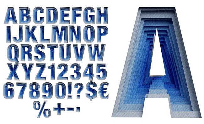 国外设计师HandMadeFont字体设计作品分享