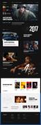 国外黑色风格的Lionsgate狮门影业新版网站设计欣赏
