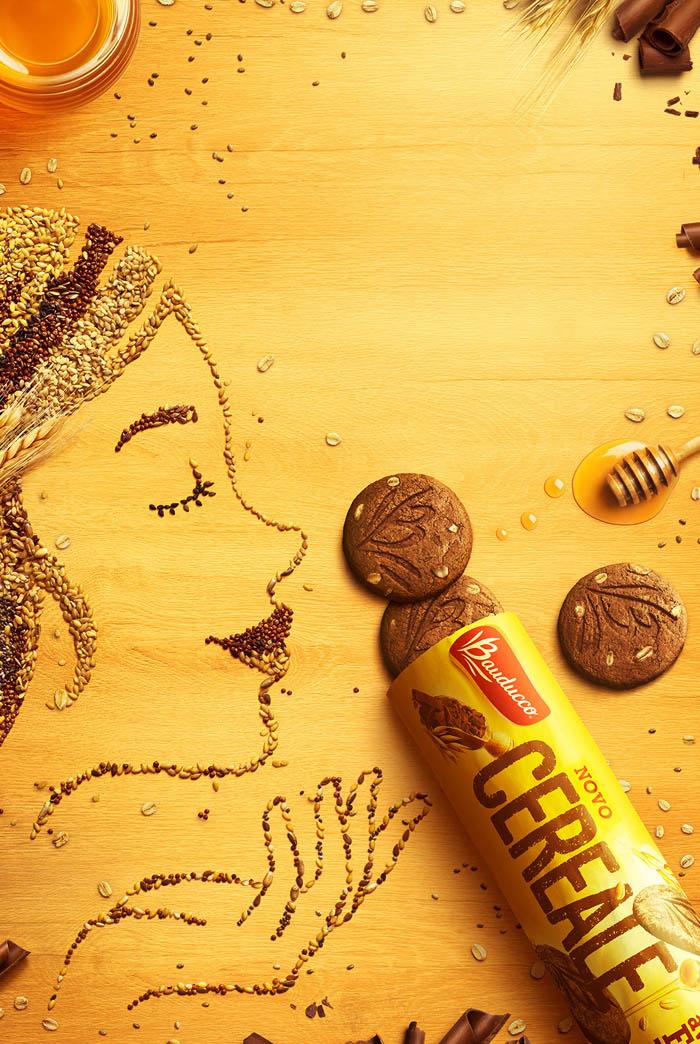 国外Bauducco黑麦饼干唯美创意设计作品