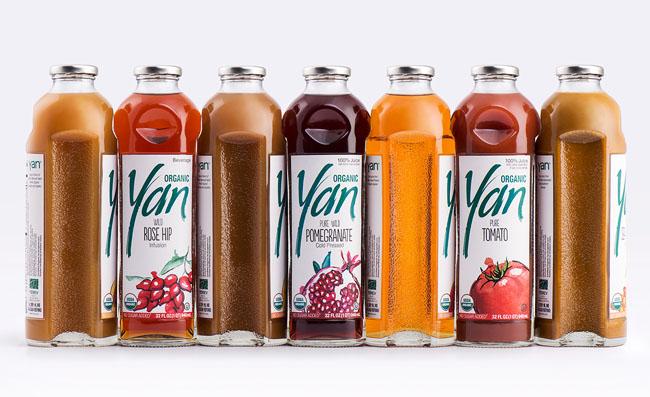 国外Yan果汁品牌创意包装设计作品