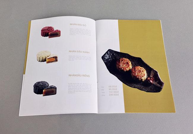 越南龙庭酒家月饼画册设计作品欣赏