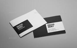 一款国外适合创意机构使用的画册设计案例欣赏