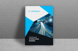 国外设计师Creative House商务画册模版设计作品欣赏
