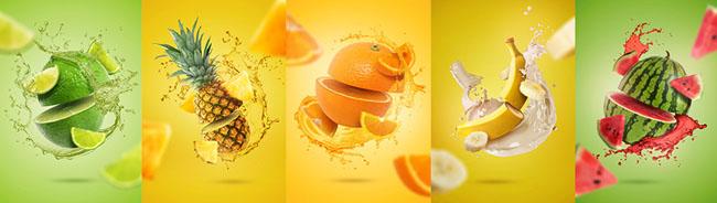 国外设计师Joao Paulo切水果平面视觉设计欣赏