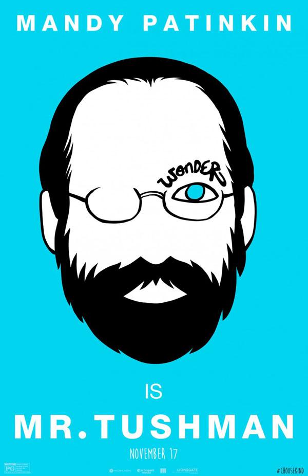 国外电影《奇迹 Wonder》概念漫画海报设计作品欣赏