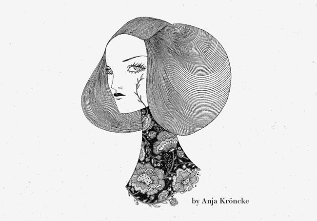 国外Anja Kroencke工作室品牌形象设计