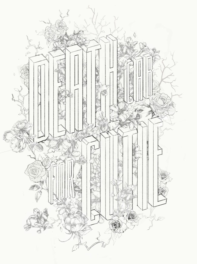 美国设计师Brian Yap漂亮的立体字体设计设计