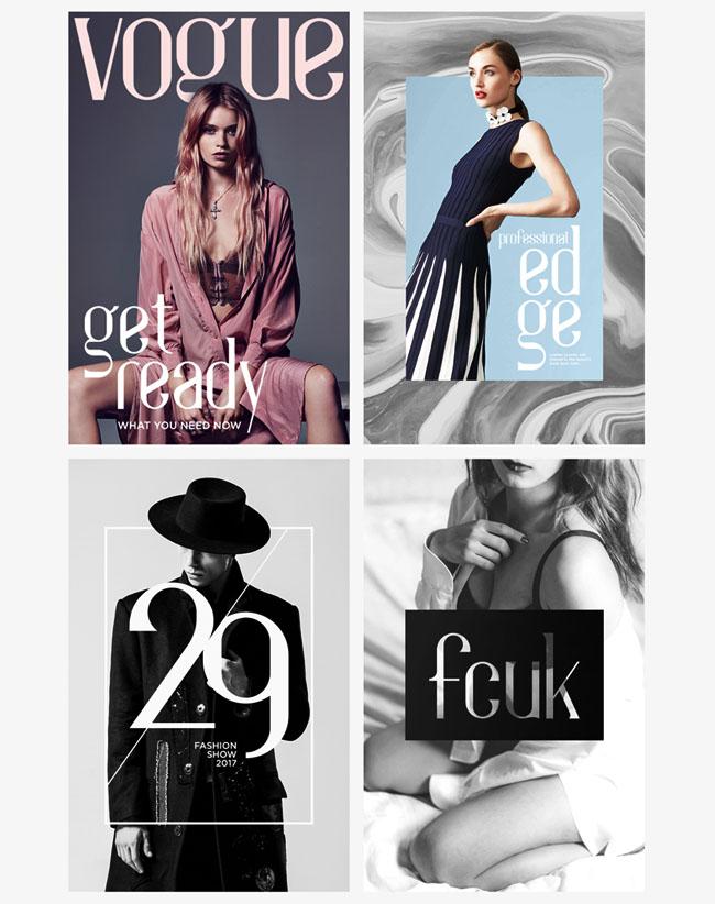 国外Aila时尚英文字体设计作品