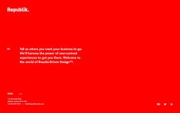 国外Republik数码媒体公司首页全屏网页设计欣赏