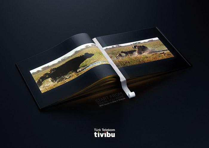 土耳其电信tivibu系列创意广告设计欣赏
