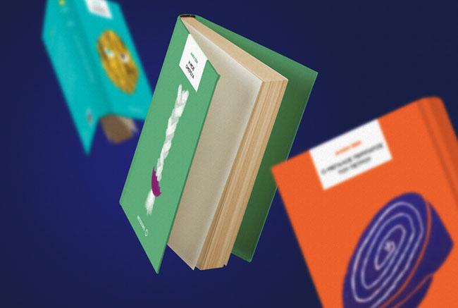 国外Alki Zei系列极简创意书籍封面设计欣赏