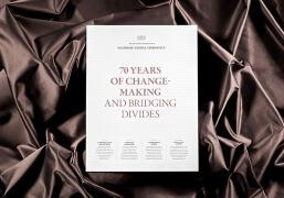国外Salzburg Global年度报告手册设计欣赏