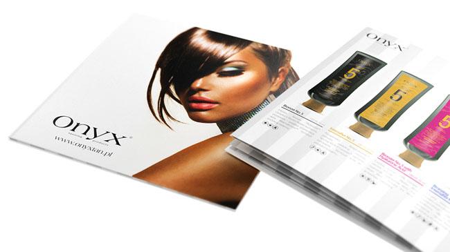 国外ONYX护肤品时尚画册设计欣赏