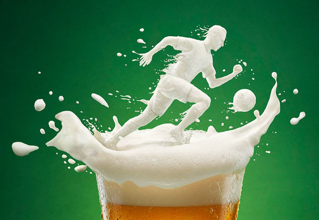 国外嘉士伯啤酒170周年创意宣传广告设计欣赏