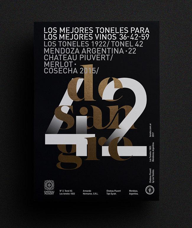 阿根廷设计师EditeStudio字体排版海报设计作品