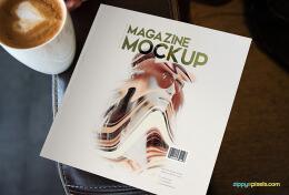 设计师Zippy Pixels简约时尚的方版杂志设计欣赏