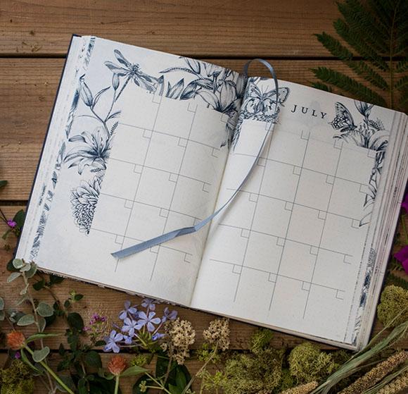 国外自然观察者日志簿设计作品
