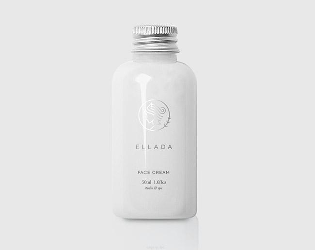 Ellada美容品牌VI形象设计作品欣赏