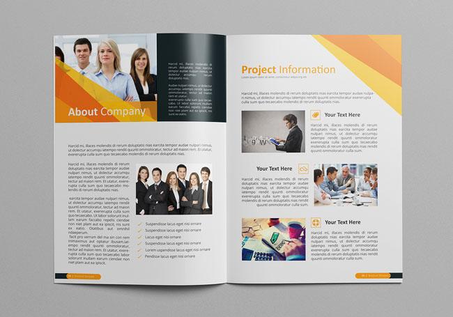 设计师CRISTAL Pioneer现代商务画册设计作品欣赏