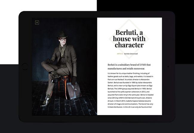 国外Bold数字杂志时尚网页设计欣赏
