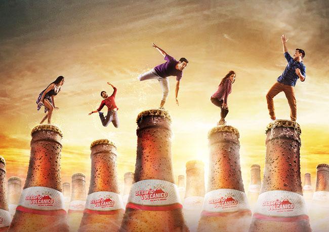 国外Arequipena啤酒视觉合成设计作品